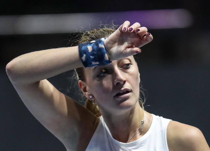 Petra Kvitova beats van Uytvanck in three sets in St. Petersburg