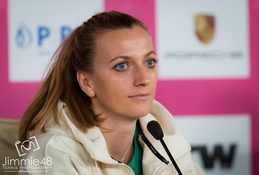 Will Petra Kvitova's illness be over by next tournament time?