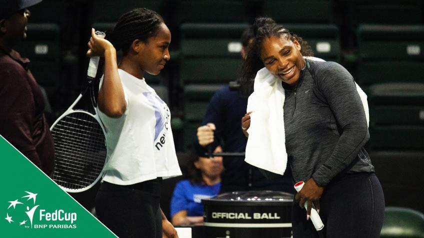 Lindsay Davenport: Coco Gauff is the Future of the Fed Cup