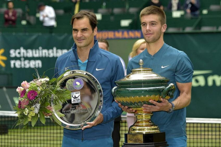 Borna Coric picks Halle victory over Roger Federer among most notable achievements