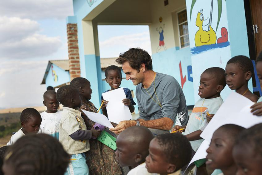 Roger Federer reveals the importance of education
