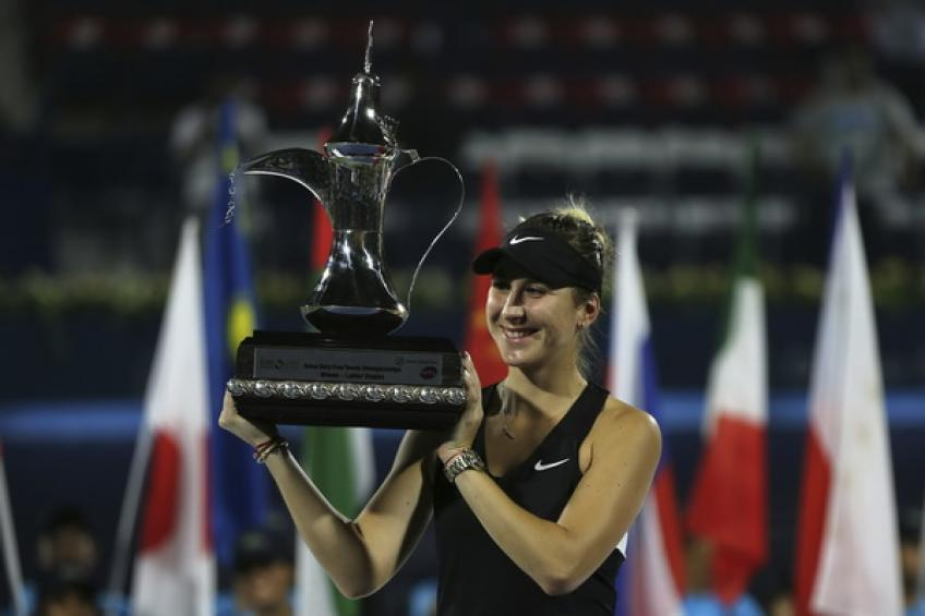 Belinda Bencic doesn't think about becoming world no. 1. Find out why