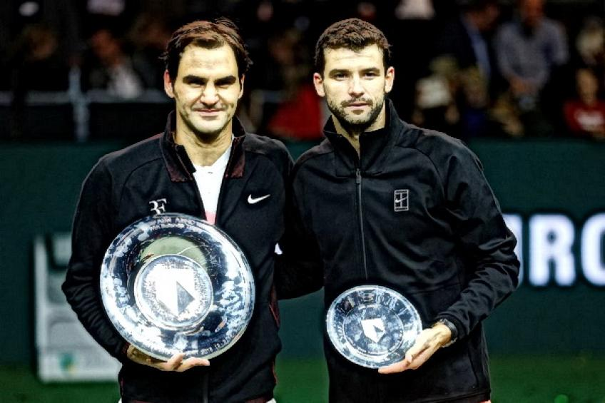 On this day: Roger Federer sprints past Grigor Dimitrov for Rotterdam crown