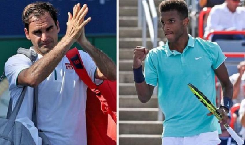 Auger-Aliassime Equals Roger Federer for Finals Reached as a Teen But Behind Nadal