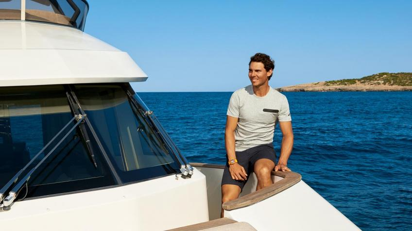 In the heart of Rafael Nadal's yacht!
