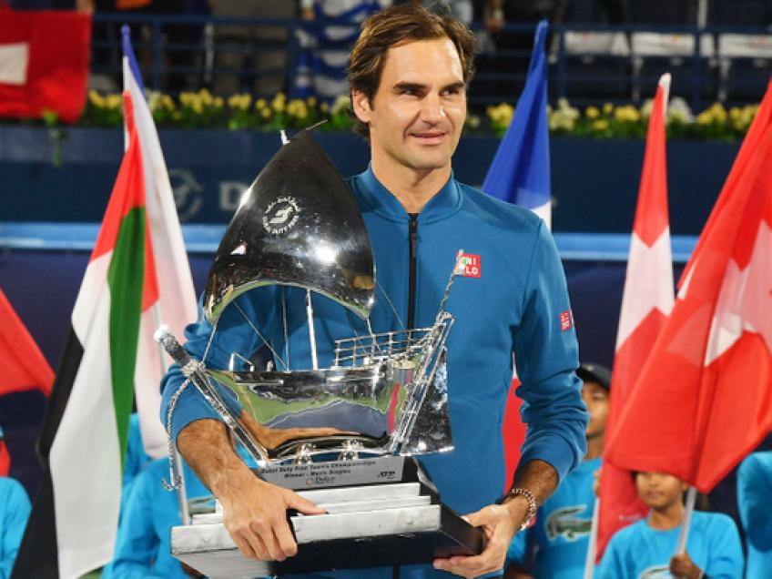 Dubai Organizers Wish Roger Federer A Speedy Recovery &Hope to See Him Back in 2021