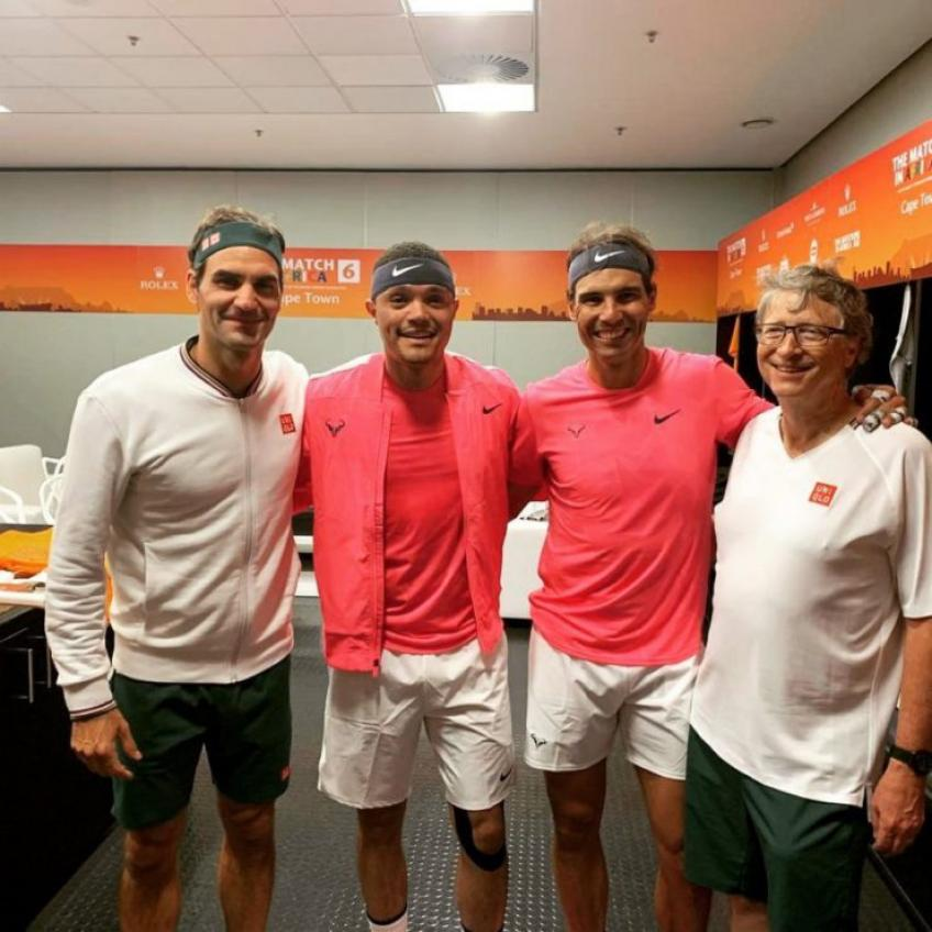 """Roger Federer: """"We are very lucky to have Bill Gates' support"""""""