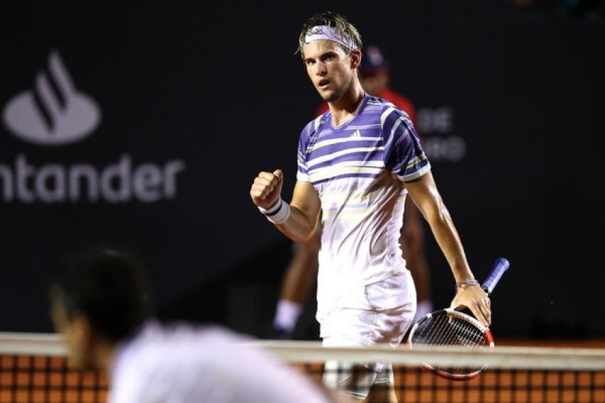 Thiem loses in Rio Open quarterfinals
