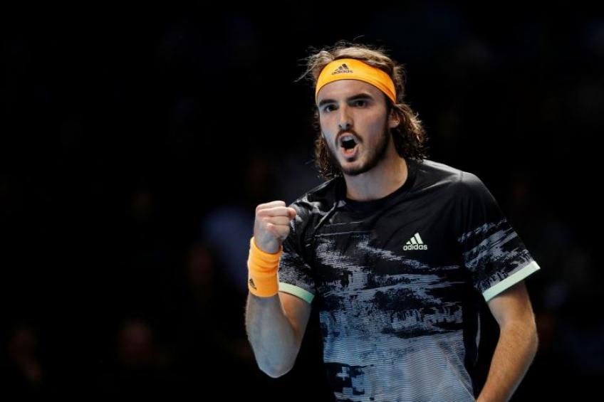 Defending champion Tsitsipas through to Open 13 final