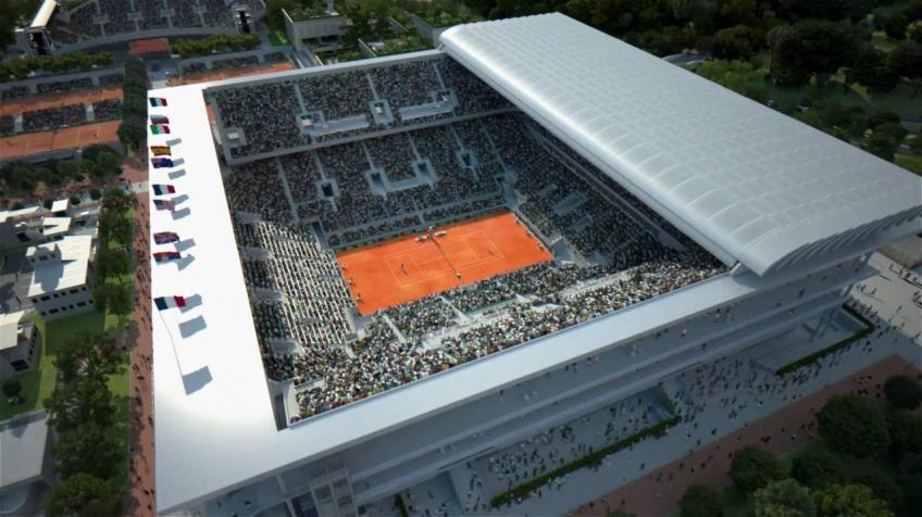 Proceeds from Inauguration of New Philippe-Chatrier Courts to go to Charity