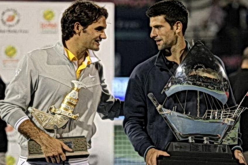On this day: Novak Djokovic tops Roger Federer for Dubai three-peat