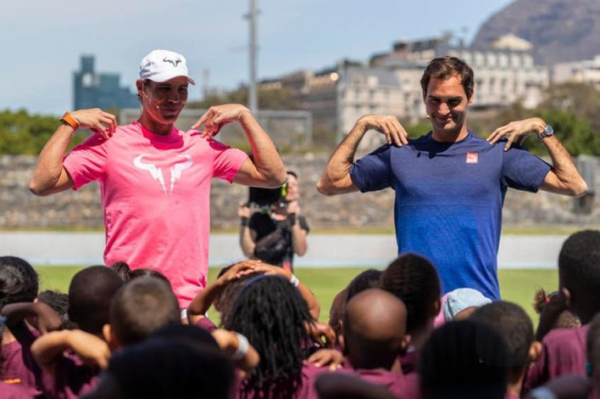 "Roger Federer: ""In the past, I was so awkward around kids"""