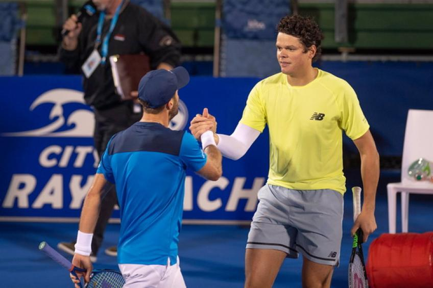 ATP Delray Beach: Milos Raonic, Reilly Opelka, Ugo Humbert and Nishioka advance