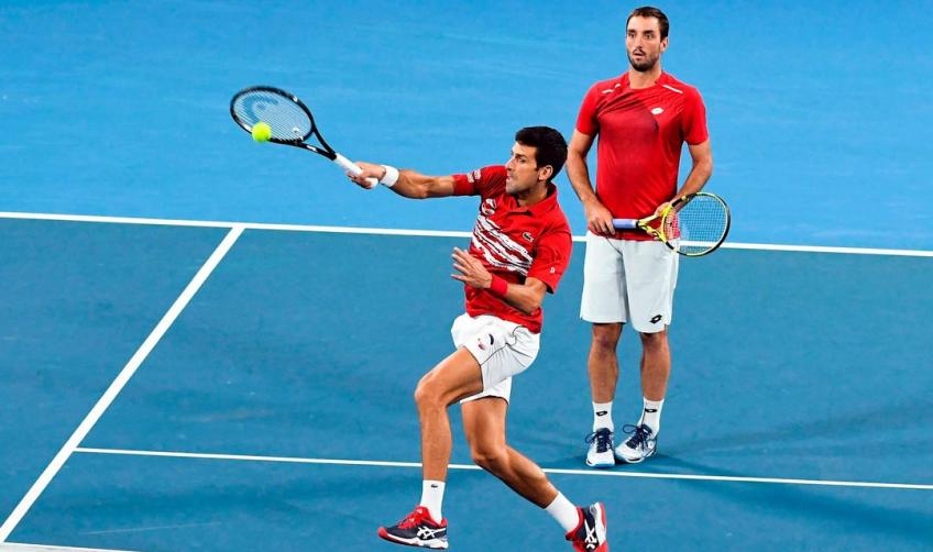 Novak Djokovic teams up with Viktor Troicki to play Indian Wells doubles
