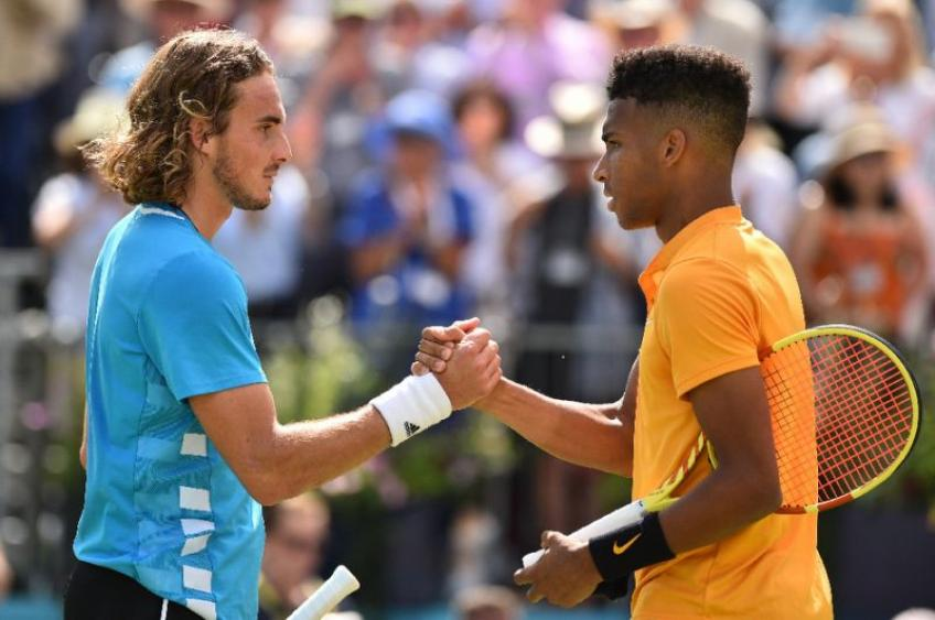 Stefanos Tsitsipas to Felix Auger-Aliassime: I feel like you make me a better player