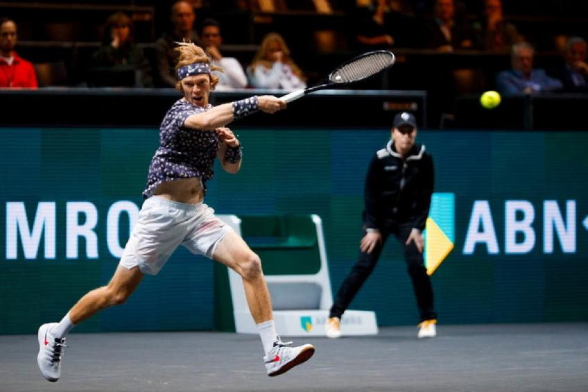 Andrey Rublev: 'The youngsters are catching Roger Federer, Rafael Nadal, Djokovic'