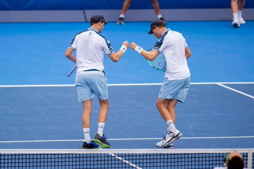 ATP Doubles: Bryan brothers make it back-to-back in Delray Beach