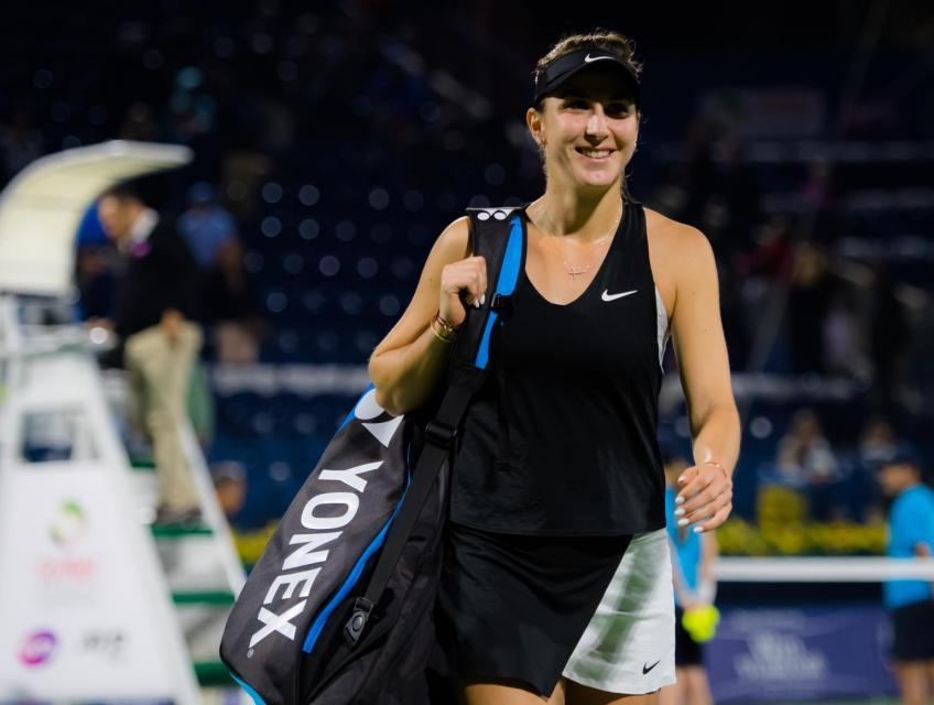 """Belinda Bencic: """"We are friends with Sofia Kenin even off the court"""""""