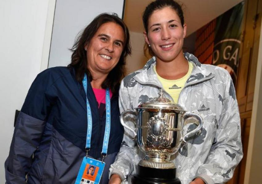 Garbine Muguruza opens up on her relationship with Conchita Martinez