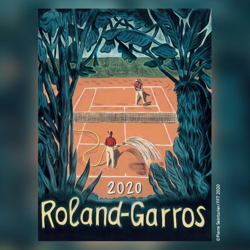 French Tennis Federation Releases Poster for the 2020 Roland Garros Championships
