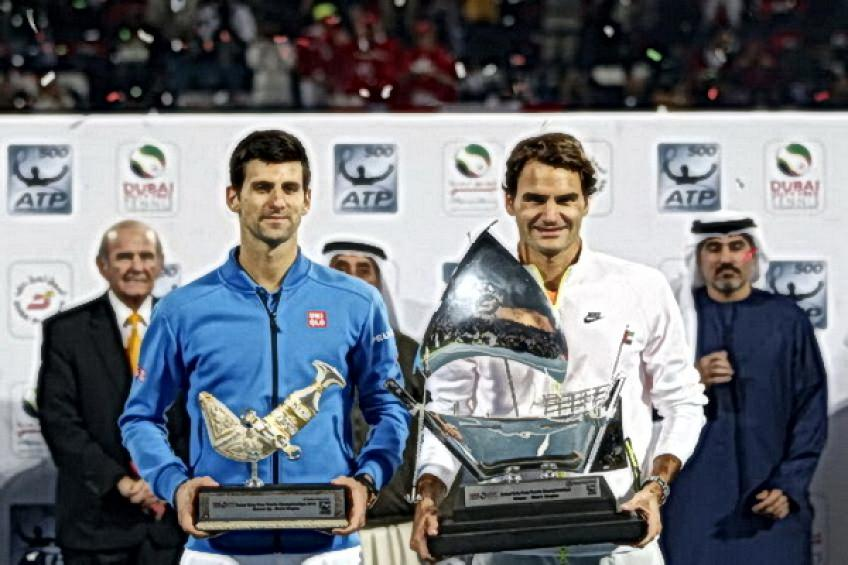 On this day: Roger Federer beats Novak Djokovic to defend Dubai crown