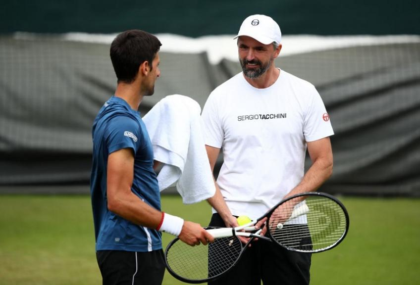 Funny Novak Djokovic jokes with Goran Ivanisevic