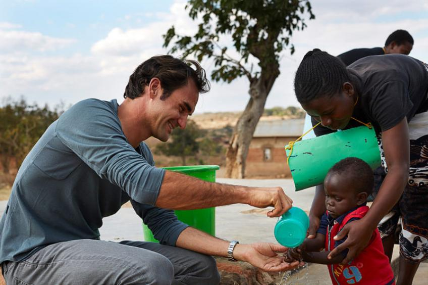 Roger Federer reveals why his Foundation is majorly spread in Africa