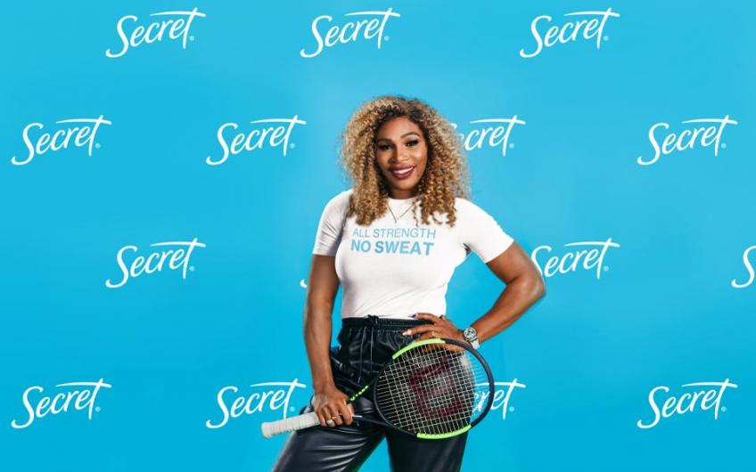 Serena Williams Teams Up with P&G Brand Secret to Promote Gender Equality in Sports