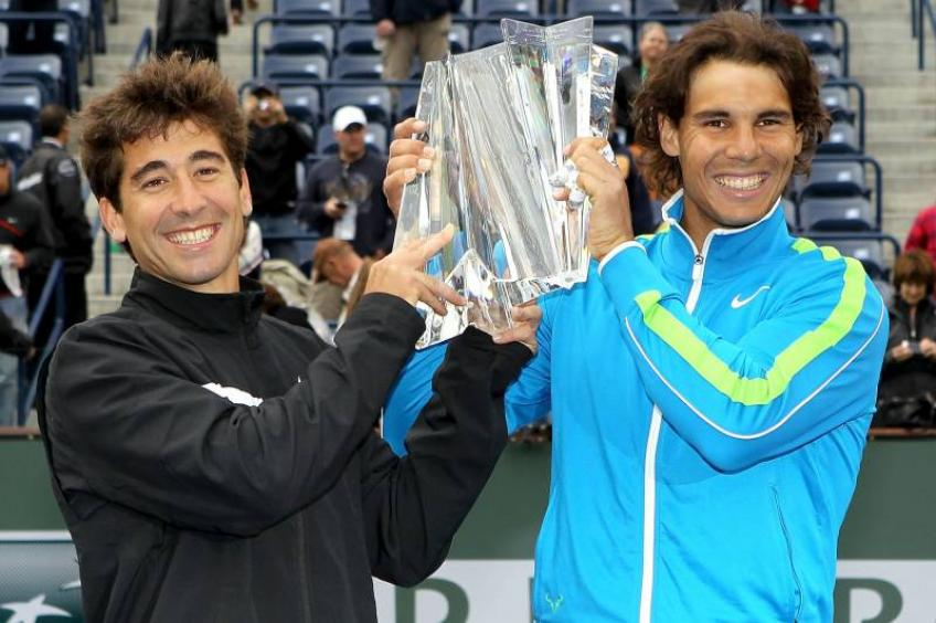 Rafael Nadal and Marc Lopez team up for doubles in Indian Wells