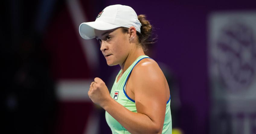 Qatar Open: Ashleigh Barty sets semi-final appointment with Petra Kvitova