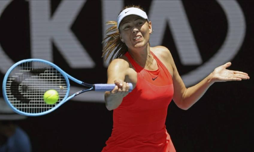 Maria Sharapova Reveals The Number of Rackets She Has Broken on Court in Her Career