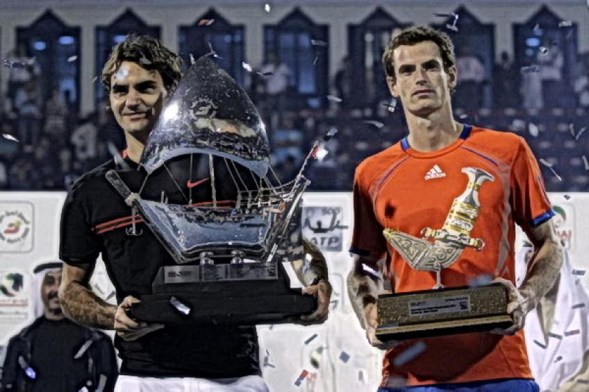On this day: Roger Federer beats Andy Murray to end five-year Dubai drought