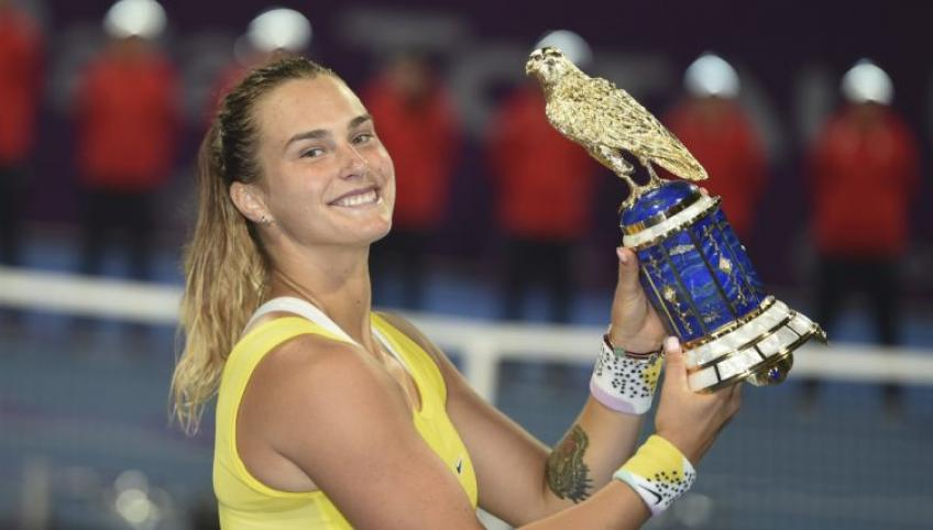 "Aryna Sabalenka: ""I'm doing it for my dad"""