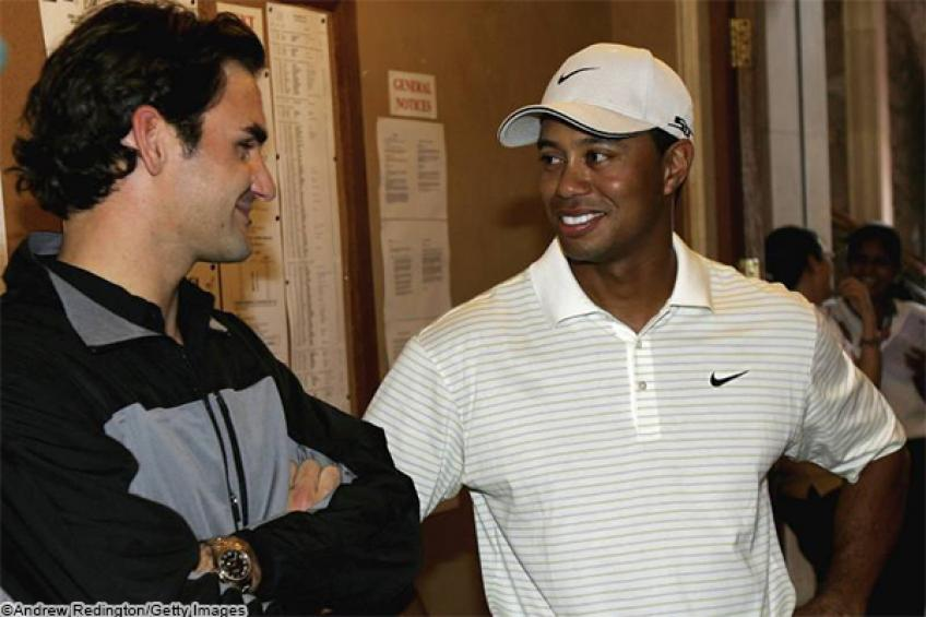 Injury forces Tiger Woods to sync with Roger Federer and retire from $9 million event