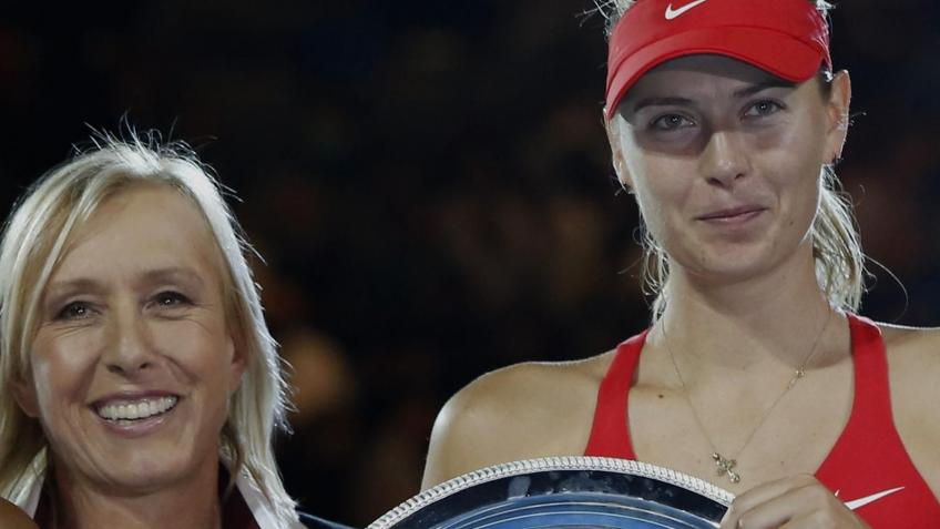 Navratilova:Throughout her career,Maria Sharapova marched to the beat of her own drum