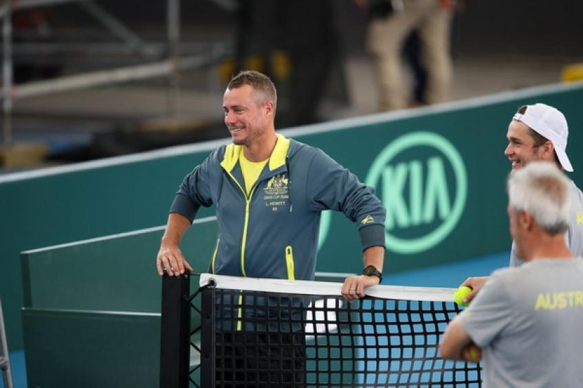 Lleyton Hewitt: 'I'm thrilled to have these guys in the squad, they will give 100%'