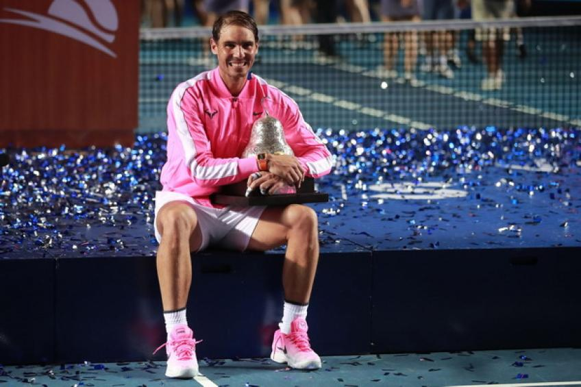Rafael Nadal reveals main goals in the rest of 2020 after conquering Acapulco