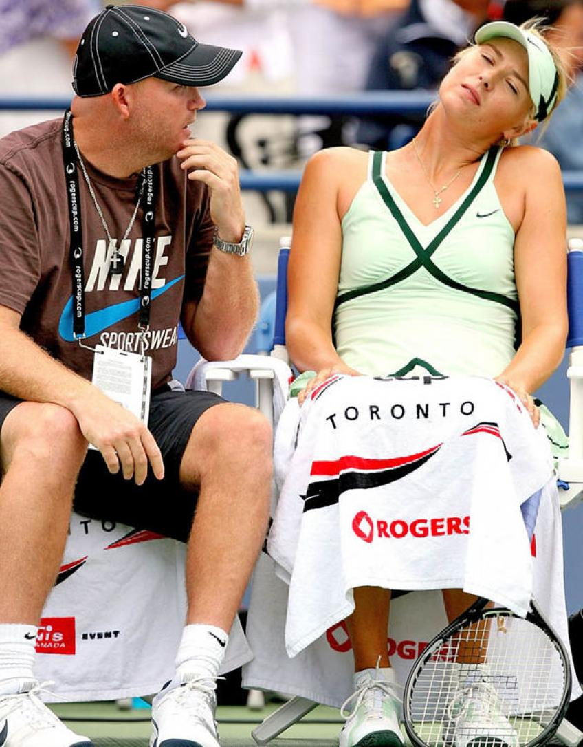 Michael Joyce: Sharapova Had This Belief That She Was Always In it Until Last Point