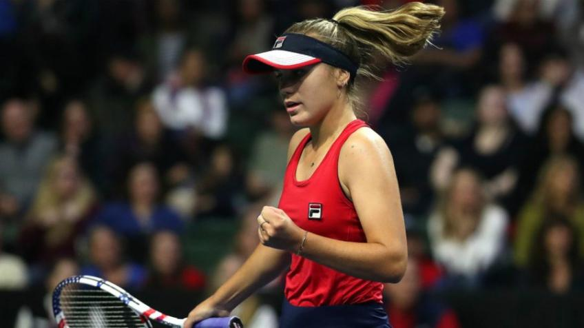 Lyon Open: Top-seed Sofia Kenin starts off with a win, moves into second round