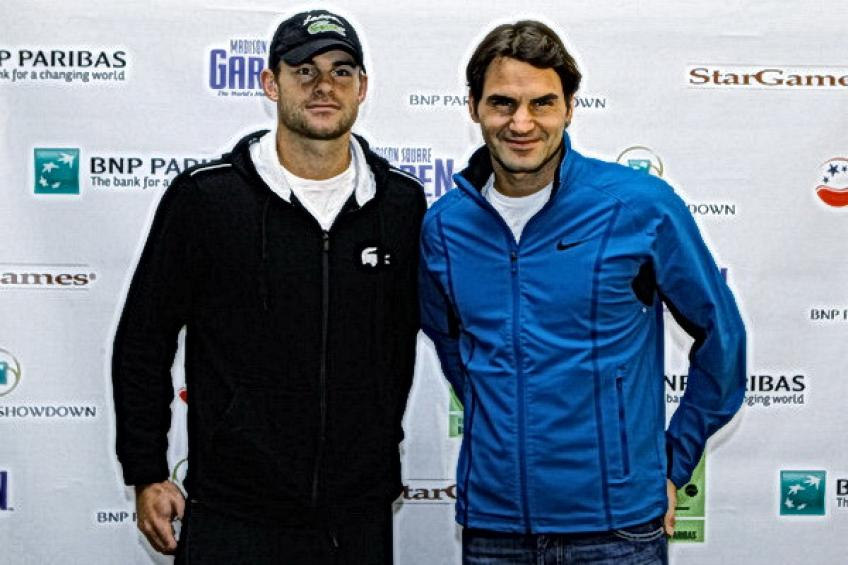 On this day: 'I'm obviously in Roger Federer's head' - Andy Roddick jokes