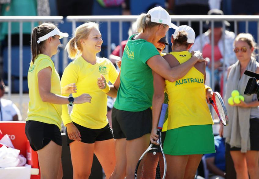 Casey Dellacqua: The camaraderie in Australian women's tennis is really great