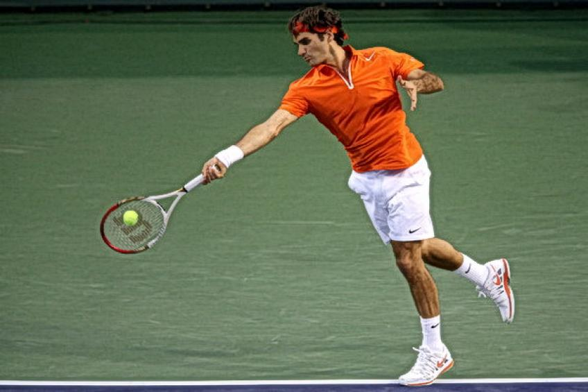 On this day: Roger Federer dismantles Denis Istomin in less than an hour in..