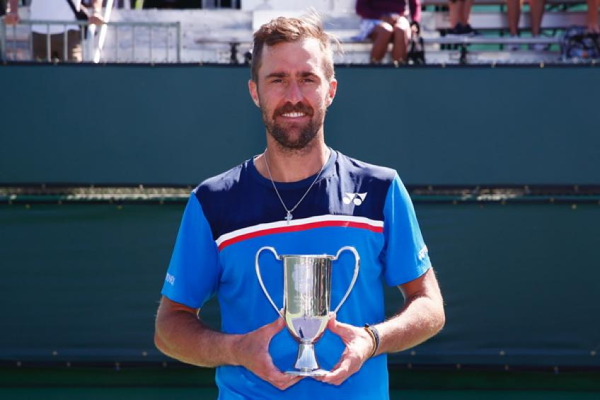 Instead of Rafael Nadal or Novak Djokovic, Steve Johnson wins only Indian Wells event