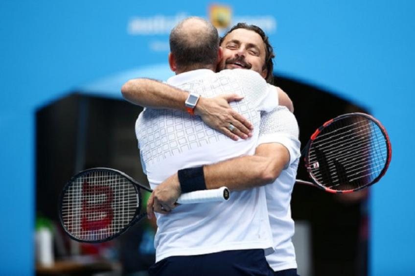 Guy Forget and Henri Leconte to Play Doubles at the  Open Guindé