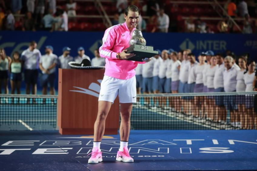 Rafael Nadal moves further ahead of Roger Federer after conquering Acapulco