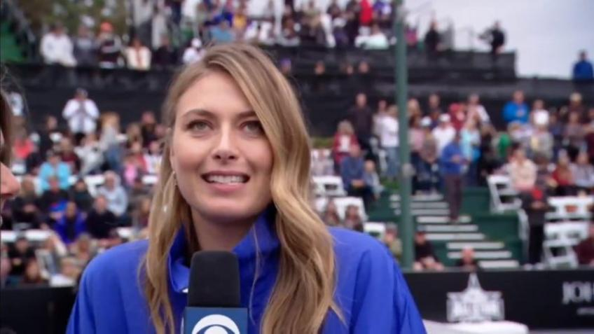 Maria Sharapova recalls the beginning of her career
