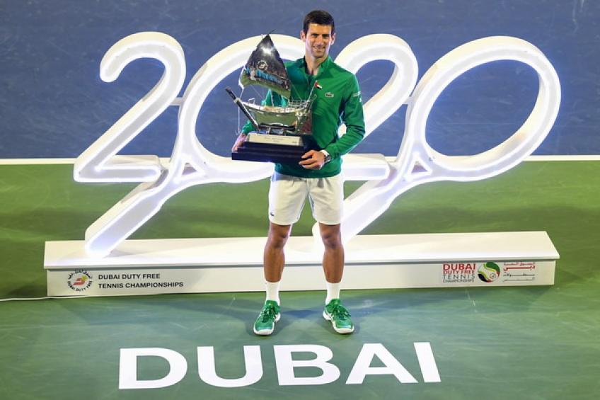 Novak Djokovic matches Roger Federer's ATP 500 hard-court record