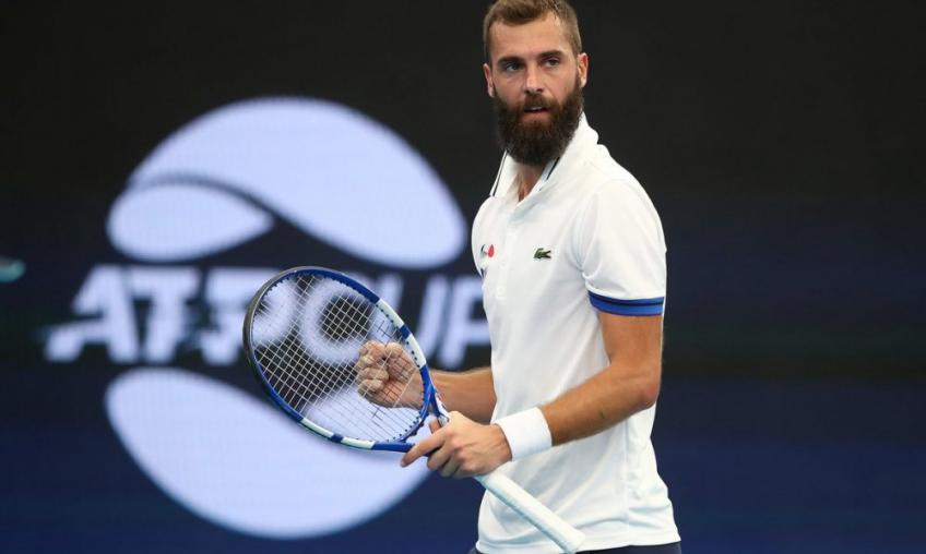 Benot Paire:That's why I play tennis: to have fun on court, enjoy, try some hot shots