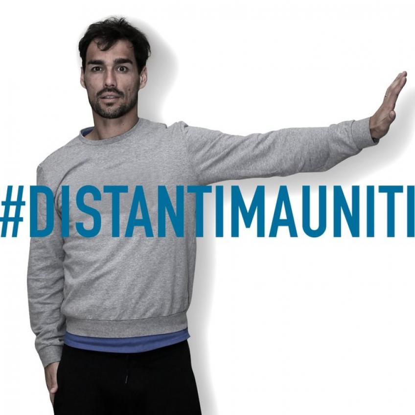 Italian Tennis Players Star in Campaign for Social Distancing