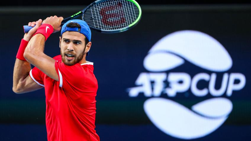 Karen Khachanov returns to Russia, says health comes at first place